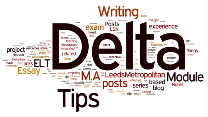 M.A. ELT/Delta - the Delta corner