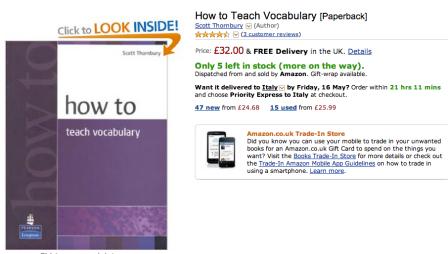 Screenshot from Amazon