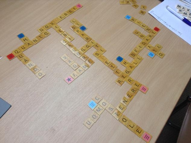 Strange Scrabble