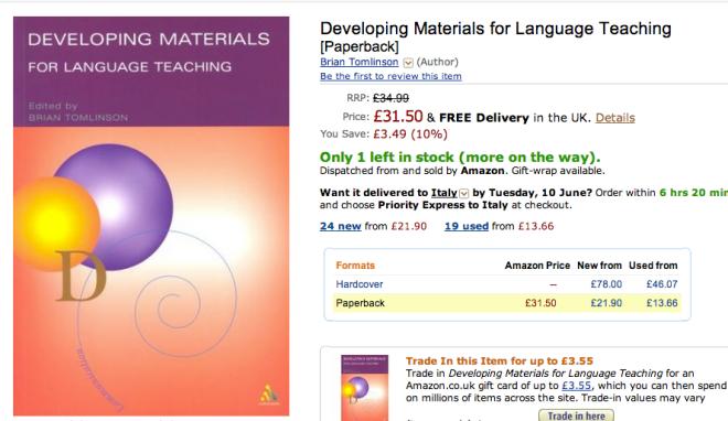 Essay contribution elt materials language teaching