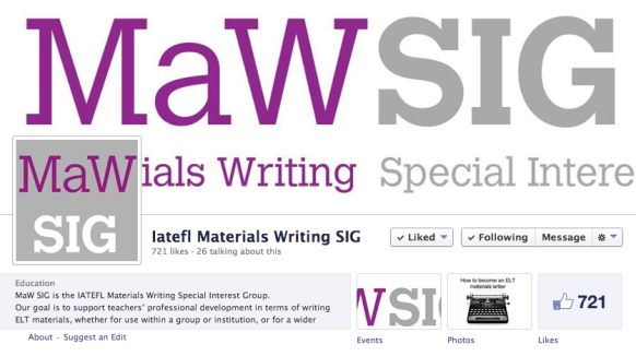 Screenshot of the MaW SIG Facebook page