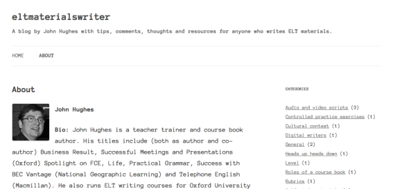 Screenshot: ELT Materials Writer