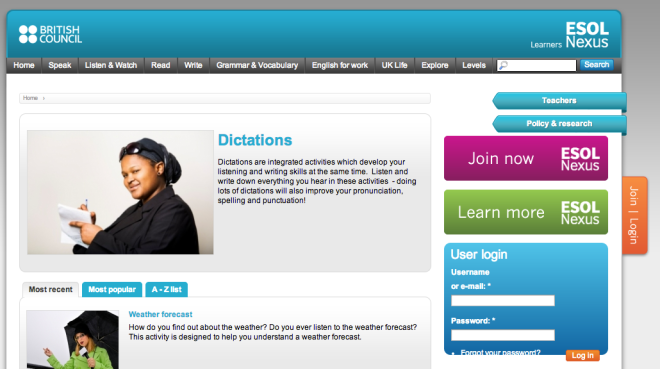 Screenshot 2 from ESOL Nexus