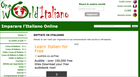 Screenshot 1: One World Italiano