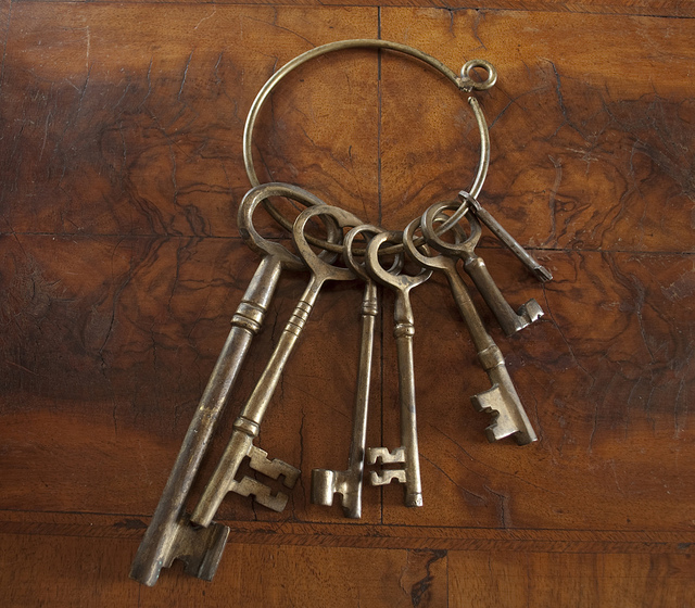 *The* keys! :-) Image taken from Google image search for images licensed for commercial reuse with modification.