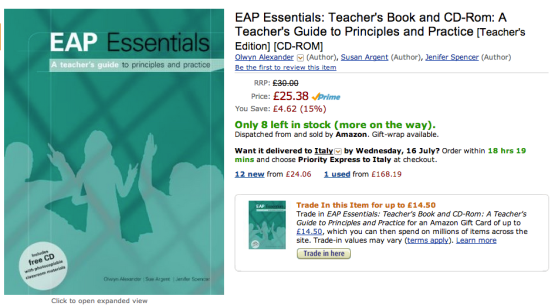 EAP Essentials - essential in name, essential in nature...